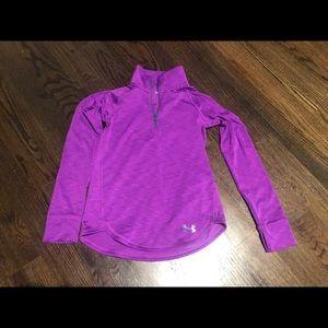 Under Armour fleece lined zip up hoodie medium